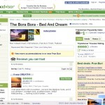 The bora bora  Bed and Dream on TripAdvisor